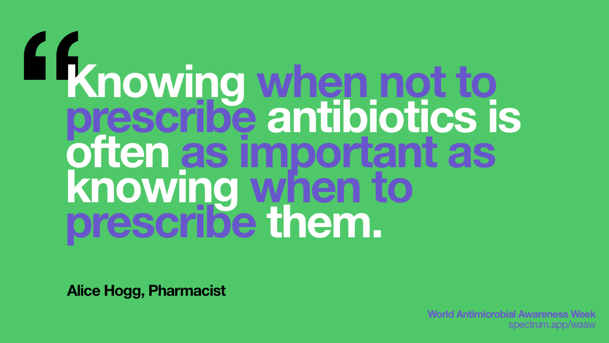 Knowing when not to   prescribe antibiotics is often as important as knowing when to prescribe   them.