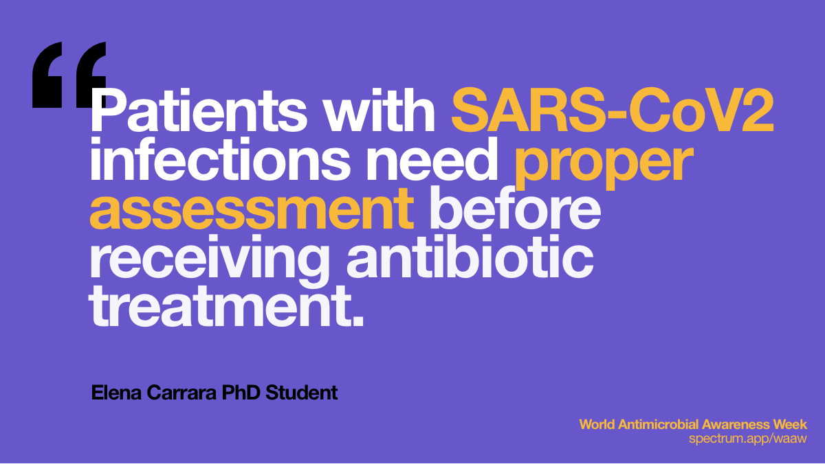 Patients with SARS-CoV2   infections need proper assessment before receiving antibiotic treatment.
